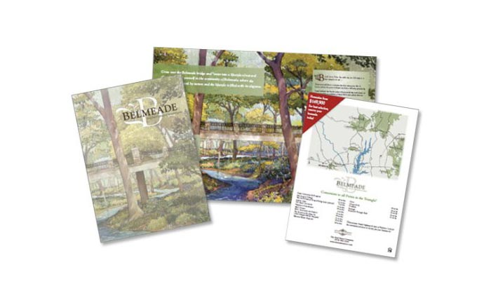 Belmeade Brochure Design