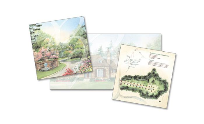 Botanical Way Brochure Design