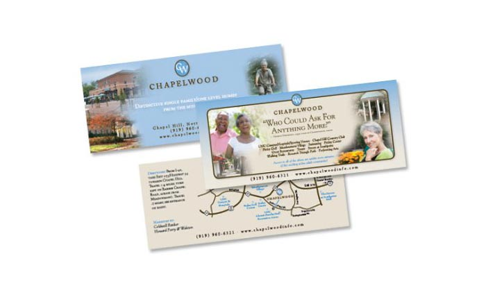 Chapelwood Flyer Design