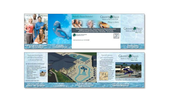 Granite Falls Brochure Design
